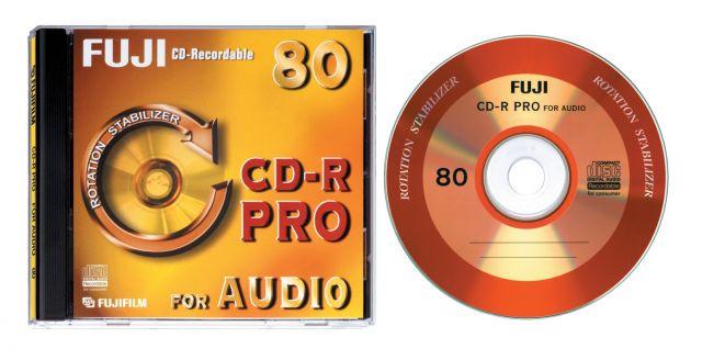 FujiFilm CD-R for Audio Pro 80p (Slim)