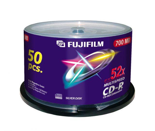 FujiFilm CD-R 700MB 52x hengeres, 50db