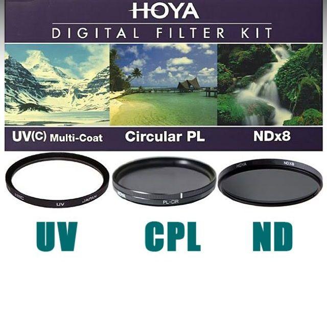 Hoya Digital Filter Kit UV,CPL,ND 67mm szűrőkkel