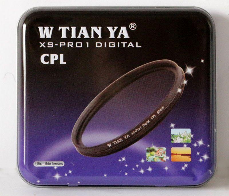 W-Tianya XS-Pro1 Digital CPL szűrő 62mm (Cirkulár polár) vékonyított