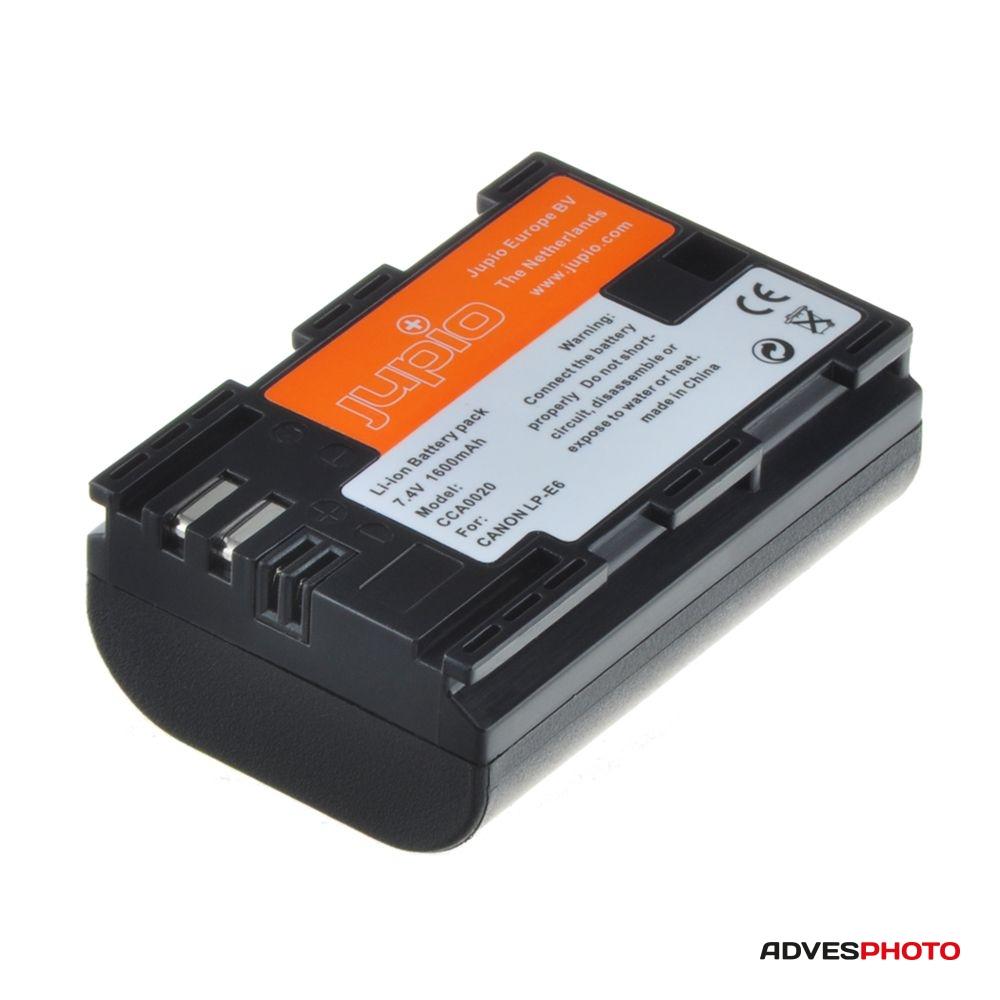 Canon LP-E6, Canon NB-E6 Chip akkumulátor a Jupiotól