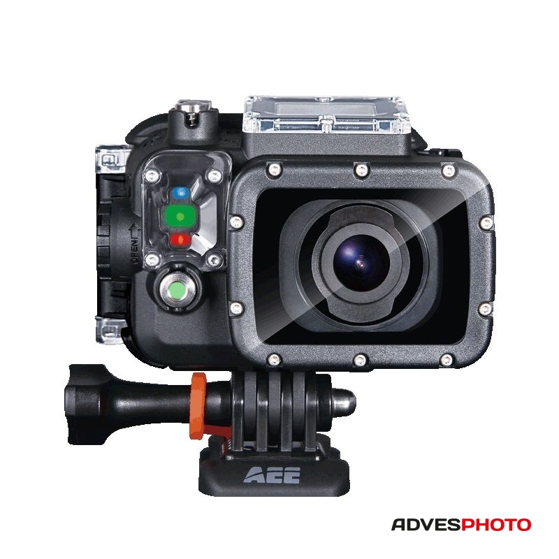"""AEE S60 Akciókamera + TFT monitor 2.0"""" + kiegészítők"""