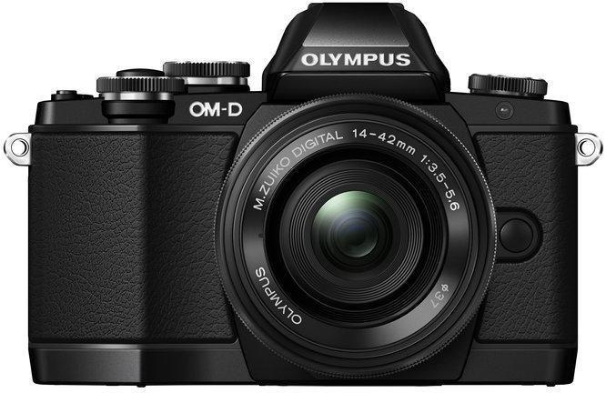 Olympus OM-D E-M10 Limited Edition 1442EZ KIT fekete/fekete