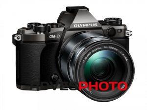 Olympus OM-D E-M5II Limited Edition 1415II KIT, Titánium