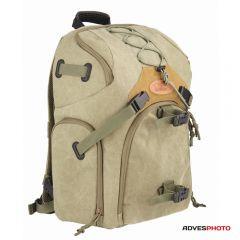 Kalahari Fotós hátizsák KAPAKO K-71 vászon hátizsák khaki színben 887d9301a8
