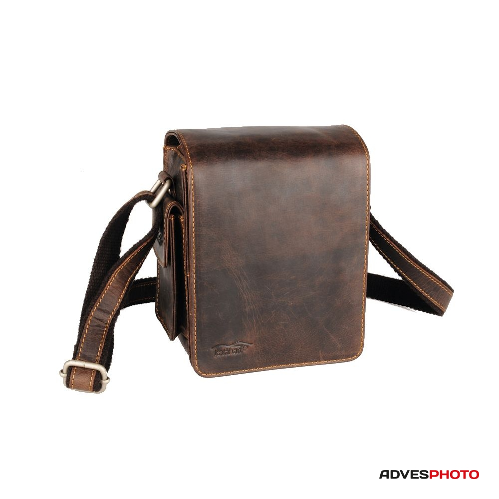 Kalahari Fotós táska bőr KAAMA L-18 bc85b36097