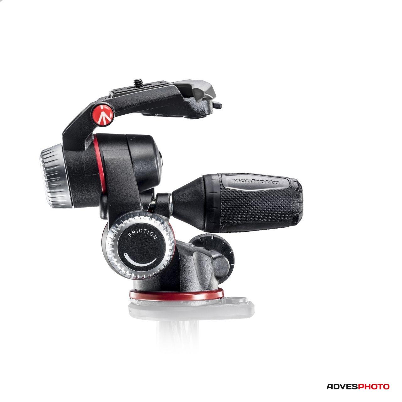 Manfrotto X-PRO 3D fej behajtható nyéllel szabályozható ellenállással
