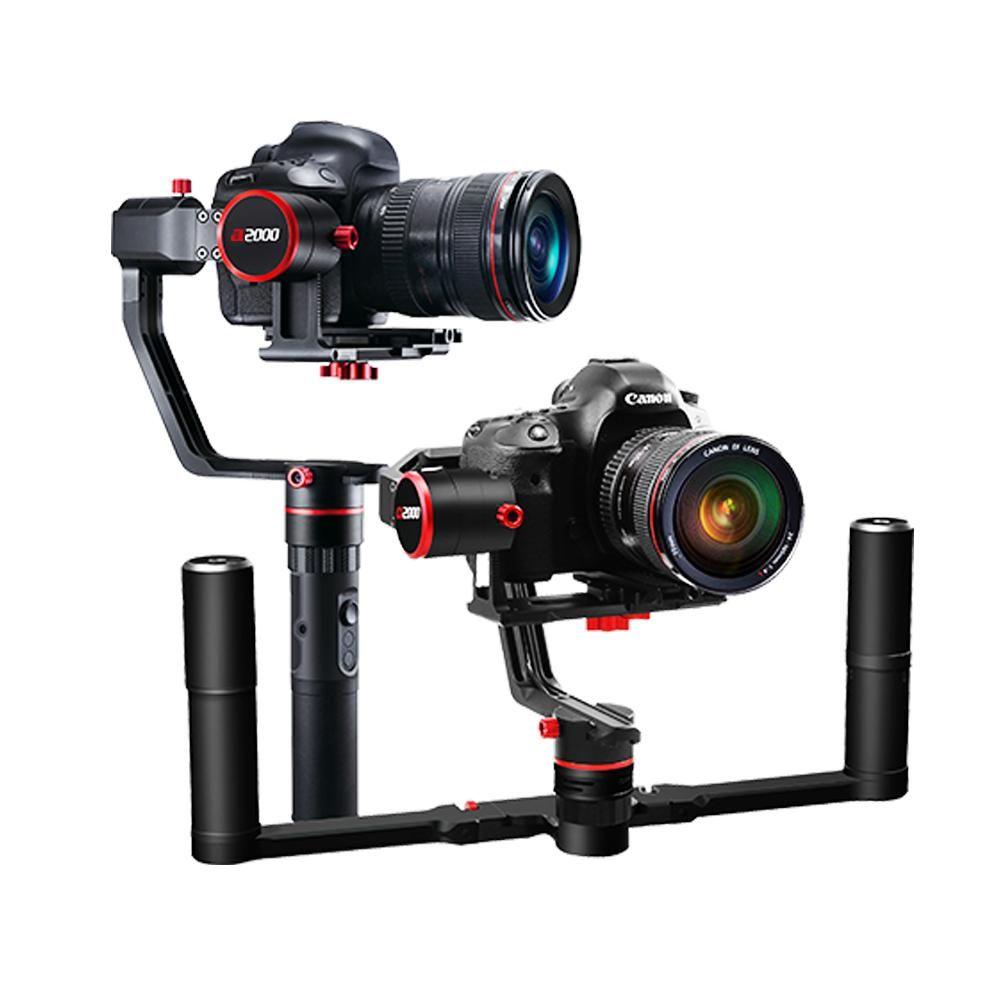 Feiyu-tech a2000 3 tengelyes dupla karos stabilizátor DSLR fényképezőgépekhez